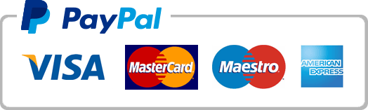 Pay online with PayPal - no paypal account needed